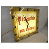 VIEW 2 LIGHTED PICKWICK ICE CREAM CLOCK