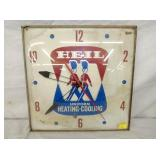 16IN HEIL HEATING/COOLING CLOCK