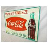 VIEW 2 RIGHTSIDE COKE SIGN W/ BOTTLE