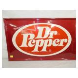 21X35 EMB. DR. PEPPER SIGN
