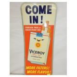 11X25 COME IN VICEROY TOBACCO SIGN