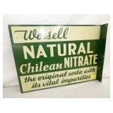 14X18 CHILEAN NITRATE SODA FLANGE
