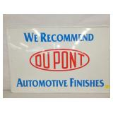 24X36 EMB. DUPONT AUTOMOTIVE SIGN