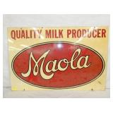 VIEW 2 MAOLA MILK SIGN