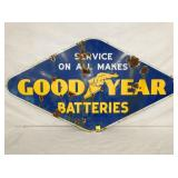 GOODYEAR BATTERIES DIAMOND SIGN