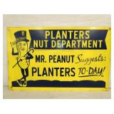 18X29 PLANTERS MR. PEANUT DEPT. SIGN