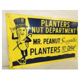 VIEW 2 CLOSEUP UP LEFTSIDE MR. PEANUT