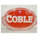 16X24 EMB. COBLE SIGN