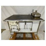 24X36 ENAMEL WOOD COOKSTOVE
