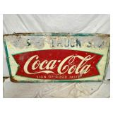 37X71 COKE FISHTAIL SIGN