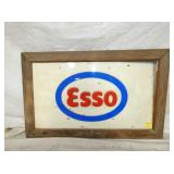 20X32 ESSO RAISED LETTERS PLASTIC SIGN