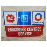 24X34 ALUM. AC DELCO SERVICE SIGN
