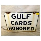 VIEW 2 OTHERSIDE PORC. GULF CARDS SIGN
