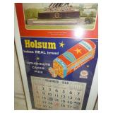 VIEW 2 CLOSEUP HOLSUM 1968 CALENDAR