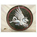 33IN PEGASUS WOODEN SIGN
