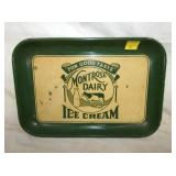 11X15 MONTROSE DAIRY ICE CREAM TRAY