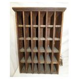 15X26 EARLY BOARDING HOUSE MAIL BOX