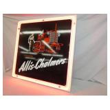 VIEW 2 CLOSEUP NEON ALLIS CHALMERS SIGN