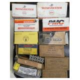 WINCHESTER AND VARIOUS AMMO