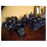 SEVERAL PCS. EARLY CARNIVAL GLASS