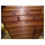 VIEW 4  W/MULTIPLE DOVETAILED DRAWERS