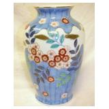 12IN. EARLY HAND DECO VASE