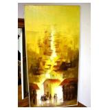 20X40 ORG. OIL ON CANVAS SIGNED JUAN R. NOOVER