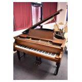 VIEW 2 CLOSEUP BABY GRANDE PIANO BY CHICKERING