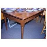 VIEW 2 W/TURN LEGS WALNUT TABLE