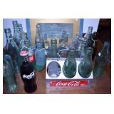COCA-COLA CARRIER & BOTTLES