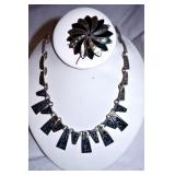 VIEW 3 STERLING NECKLACE & BROACH