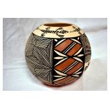 VIEW 2 OTHERSIDE 5IN ART POTTERY SIGNED