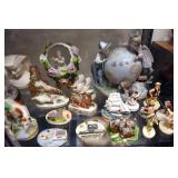 VARIOUS PIECES FINE CHINA, ARTIST SIGNED PIECES