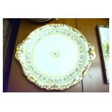 EARLY LIMOGES PLATE