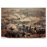 """27X37 """"BATTLE PITTSBURG"""" PICTURE"""