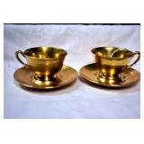 TIFFANY & CO. CUPS/SAUCERS