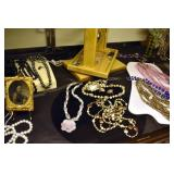 COSTUME JEWELRY, TIN TYPES, OTHERS