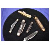 REMINGTON, CAMILLUS POCKET KNIVES