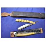 EARLY GERMAN STRAIGHT RAZORS, OTHERS