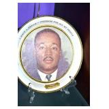 MARTIN LUTHER KING PLATE
