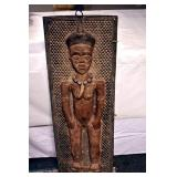 12X35 CARVED AFRICAN PYGMY