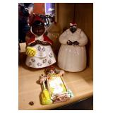 MAMMIE COOKIE JARS AND OTHERS