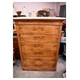 VIEW MAPLE CHEST W/ MARBLE