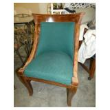 UNUSUAL PARLOR CHAIR