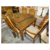 7PC. DINING SET W/ LEAVES