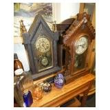 GROUP PICTURE EARLY MANTEL CLOCKS