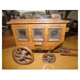 14IN HANDMADE SAMPLE STAGE COACH