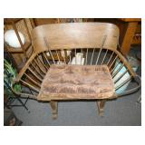 35X37 EARLY BUGGY BENCH