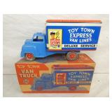 MARX TOY TOWN EXPRESS VAN LINES W/ BOX