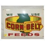 14X20 CORN BELT FEEDS SIGN